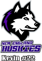 New England Jr Huskies Custom Car Window Decals | Stickers for your Car Window