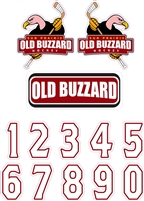 Old Buzzard Hockey HD & Numbers