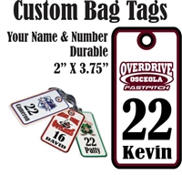 OSCEOLA Overdrive Fastpitch | Softball | Baseball Bag Tags