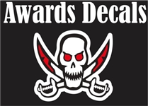 Palm Bay Pirates Football Helmet Award Decals & Stickers | tagsports.net