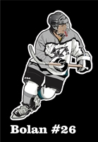 Providence Junior Friars Hockey Club Custom Car Window Decals