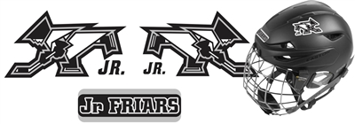 Providence Junior Friars Hockey Helmet Decals