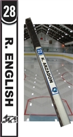 Providence Junior Friars Hockey Club Custom Hockey Stick Tags