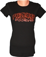 Pinellas Predators Custom Glitter Women's Scoop Neck Tee