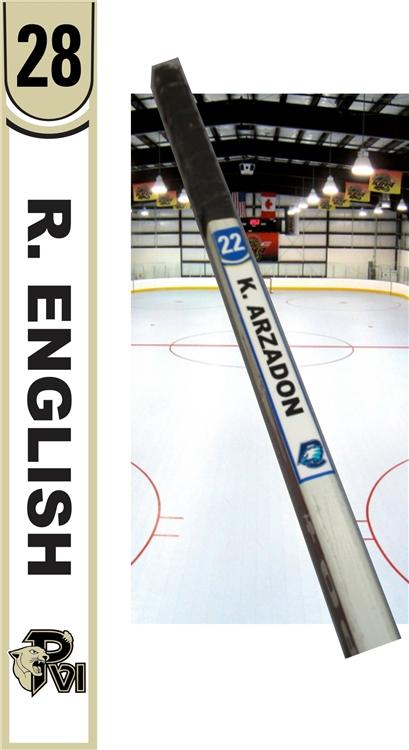 PVI - Custom Hockey Stick Tags