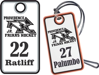 PVI Panthers Hockey Club  Custom Bag Tags