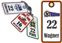 Southern Indiana Xtreme Softball Bag Tags