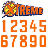 SI Xtreme Decal & Number Combo Set