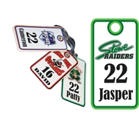 Stowe Raiders Custom Hockey Bag Tags