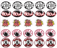 St Stephen Custom Helmet Award Decals | Helmet Stickers