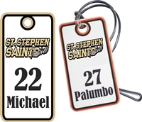 St Stephen Saints  Custom Bag Tags