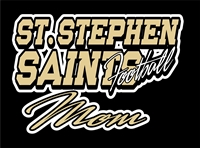 St Stephen Saints Football Custom Car Window Decals | Stickers for your Car Window