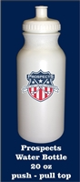 The Prospects Water Bottle with team logo