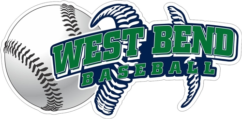 West Bend Bulldogs Custom Baseball Car Window DecalsStickers - Custom car decals baseball