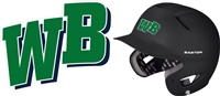 West Bend Baseball Helmet Decal
