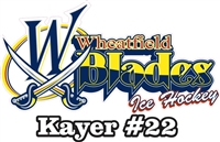 Wheatfield Blades Hockey Association | Decals Clings Stickers