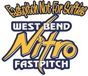 West Bend Nitro Fastpitch Custom Baseball Decals | Stickers for your Car Window