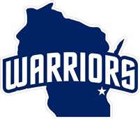 West Bend Warrior Custom Baseball Decals | Stickers for your Car Window