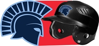 West Bend West Spartans Youth Baseball Custom Batting Helmet Decals | Stickers