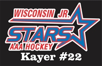 Wisconsin Jr Stars AAA Ice Hockey 
