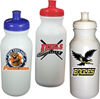 Custom Sports Water Bottle with team logo