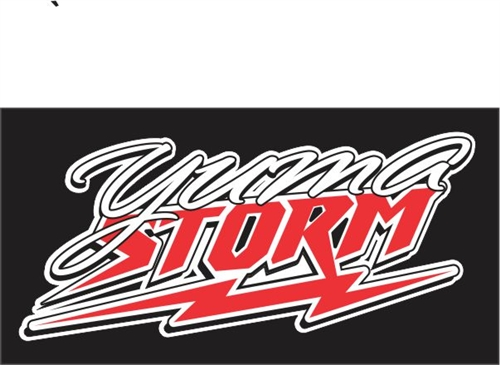 Yuma Storm Football Car Window DecalsStickers Helmet Decals For - Custom decals and stickers